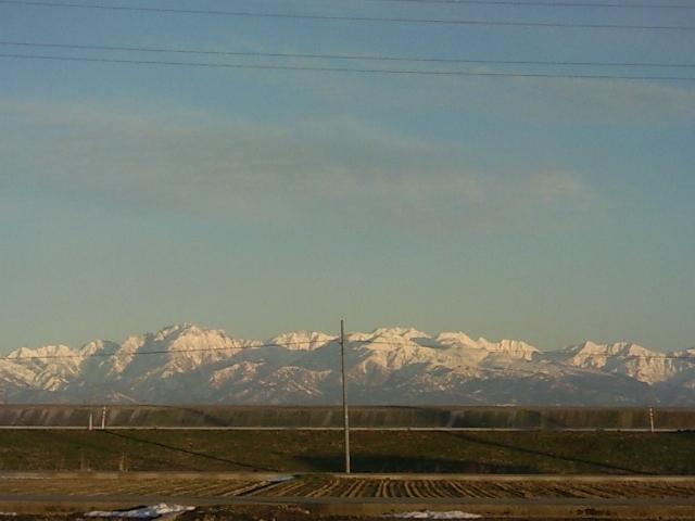 昨日の立山